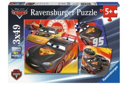 Ravensburger 08001 - Verdák - Carbon Racers - 3 x 49 db-os puzzle