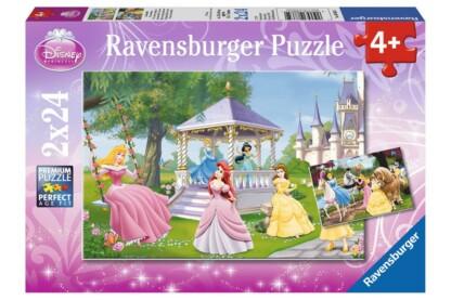 Ravensburger 08865 - Disney Princess - A kertben - 2 x 24 db-os puzzle