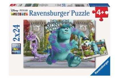 Ravensburger 09051 - Szörny Egyetem - 2 x 24 db-os puzzle