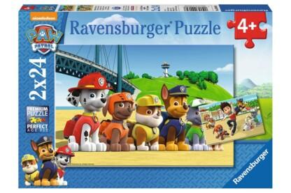 Ravensburger 09064 - Mancs őrjárat - 2 x 24 db-os puzzle