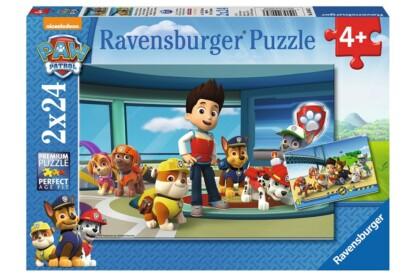 Ravensburger 09085 - Mancs őrjárat - 2 x 24 db-os puzzle