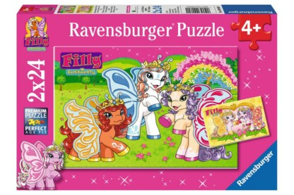 Ravensburger 09089 - Filly pillangó pónik - Barátok - 2 x 24 db-os puzzle