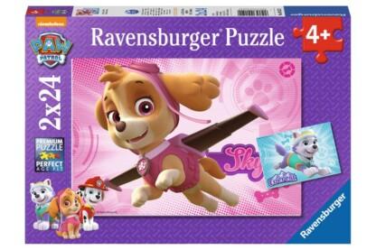 Ravensburger 09152 - Mancs őrjárat - Skye és Everest - 2 x 24 db-os puzzle