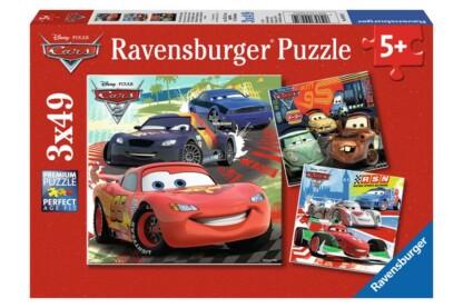 Ravensburger 09281 - Verdák 2 - Világkörüli verseny - 3 x 49 db-os puzzle