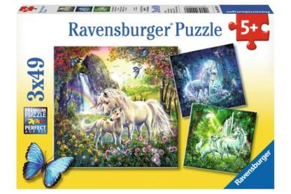 Ravensburger 09291 - Unikornisok - 3 x 49 db-os puzzle