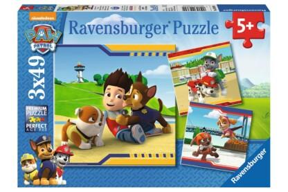 Ravensburger 09369 - Mancs őrjárat - 3 x 49 db-os puzzle