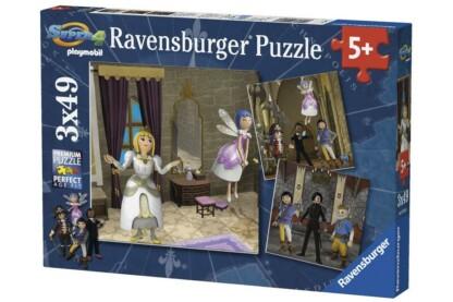 Ravensburger 09408 - Playmobil - Super 4 - 3 x 49 db-os puzzle
