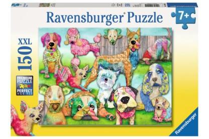 Ravensburger 10041 - Patchwork kutyák - 150 db-os XXL puzzle