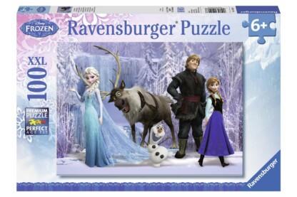 Ravensburger 10516 - Jégvarázs - A Hókirálynő birodalma - 100 db-os XXL puzzle