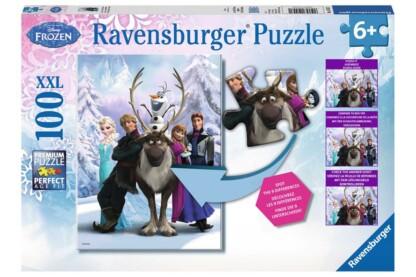 Ravensburger 10557 - Keresd a különbséget - Jégvarázs - 100 db-os XXL puzzle