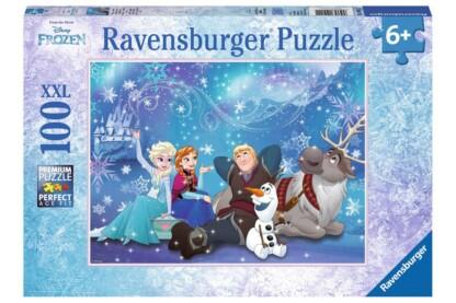 Ravensburger 10911 - Jégvarázs - Elsa, a Hókirálynő - 100 db-os XXL puzzle