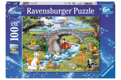 Ravensburger 10947 - Disney - Állati barátok - 100 db-os XXL puzzle
