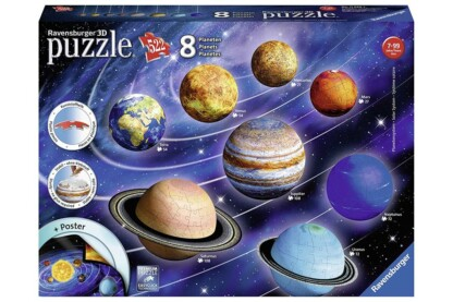 Ravensburger 11668 - Naprendszer - 522 db-os 3D puzzle
