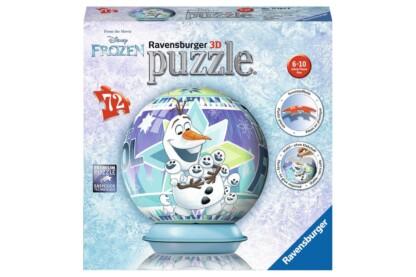 Ravensburger 11764 - Jégvarázs - Olaf - 72 db-os 3D gömb puzzle