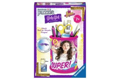 Ravensburger 12095 - Girly Girl Edition - Soy Luna tolltartó - 54 db-os 3D puzzle