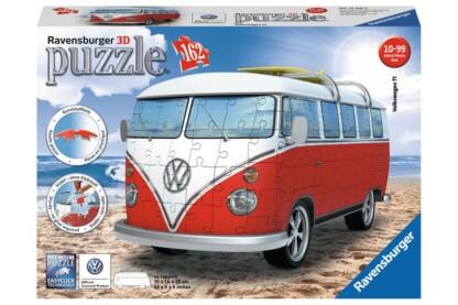 Ravensburger 12516 - Volkswagen T1 Surf Edition - 162 db-os 3D puzzle