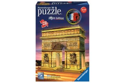Ravensburger 12522 - Night Edition - Diadalív - 216 db-os 3D puzzle