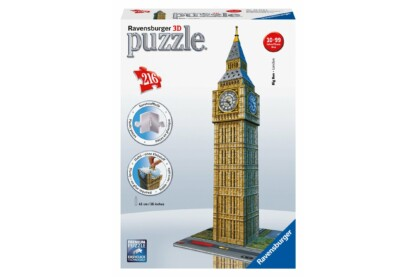 Ravensburger 12554 - Big Ben - London - 216 db-os 3D puzzle