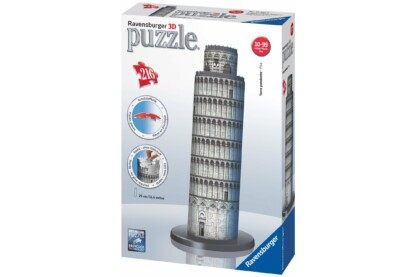 Ravensburger 12557 - Pisai ferde torony - 216 db-os 3D puzzle