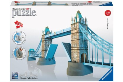 Ravensburger 12559 - Tower Bridge - London - 216 db-os 3D puzzle