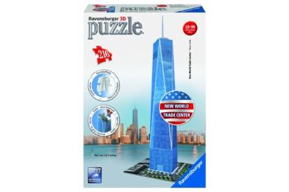 Ravensburger 12562 - New World Trade Center - 216 db-os 3D puzzle