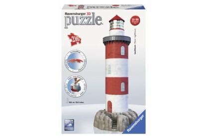 Ravensburger 12565 - Világítótorony - 216 db-os 3D puzzle
