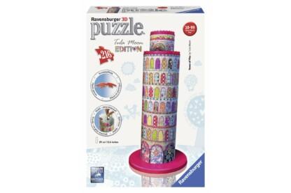 Ravensburger 12568 - Tula Moon Edition - Pisai ferde torony - 216 db-os 3D puzzle
