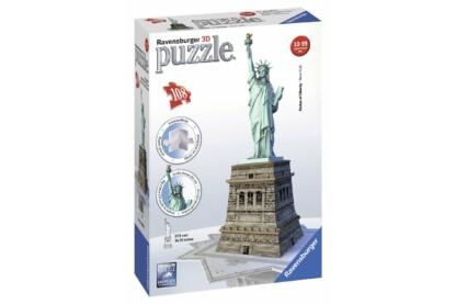 Ravensburger 12584 - Szabadság szobor - New York - 108 db-os 3D puzzle