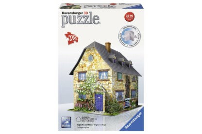 Ravensburger 12585 - Vidéki házikó - 216 db-os 3D puzzle