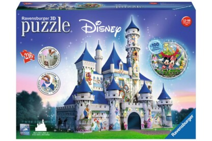 Ravensburger 12587 - Disney kastély - 216 db-os 3D puzzle
