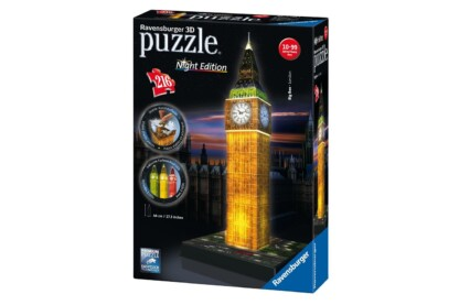 Ravensburger 12588 - Night Edition - Big Ben - 216 db-os 3D puzzle