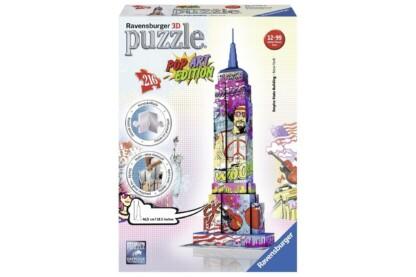 Ravensburger 12599 - Pop Art Edition - Empire State Building - 216 db-os 3D puzzle