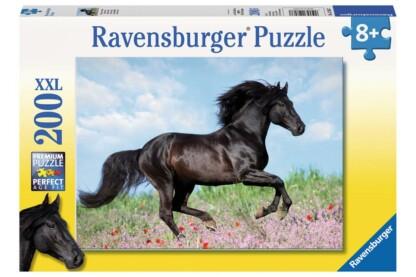 Ravensburger 12803 - Fekete csődör - 200 db-os XXL puzzle