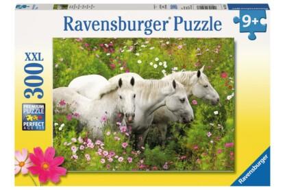 Ravensburger 13218 - Lovak a réten - 300 db-os XXL puzzle