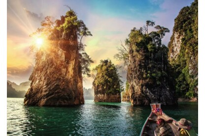 Ravensburger 13968 - Nature Edition - Cheow Larn tó, Thaiföld - 1000 db-os puzzle