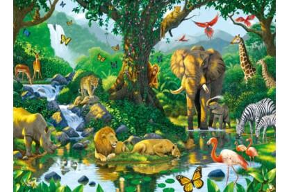 Ravensburger 14171 - Harmónia a dzsungelben - 500 db-os puzzle