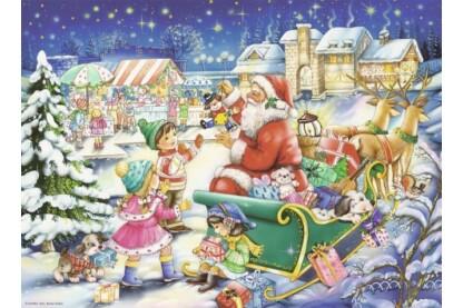 Ravensburger 14740 - Varázslatos karácsony - 500 db-os puzzle