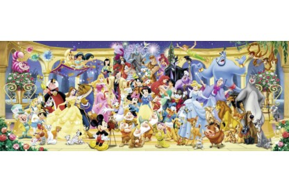 Ravensburger 15109 - Panoráma puzzle - Disney csoportkép - 1000 db-os puzzle