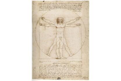 Ravensburger 15250 - Art puzzle - Da Vinci - Vitruvius-tanulmány - 1000 db-os puzzle