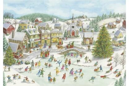 Ravensburger 15290- Karácsonyi vidámság  - 1000 db-os puzzle