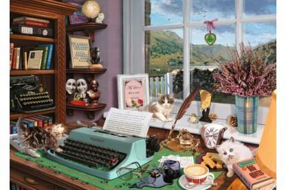 Ravensburger 15334- Az író asztala  - 1000 db-os puzzle