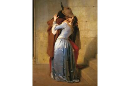 Ravensburger 15405 - Art puzzle - Hayez - A csók - 1000 db-os puzzle
