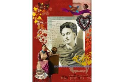 Ravensburger 15412 - Frida Kahlo portré - 1000 db-os puzzle