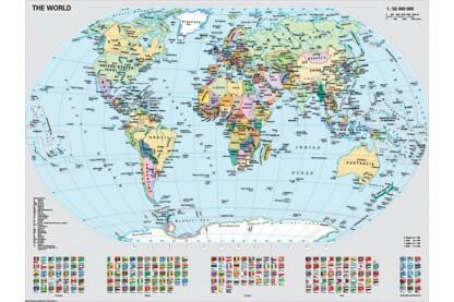 Ravensburger 15652 - Politikai világtérkép - 1000 db-os puzzle