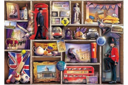 Ravensburger 15985 - London Emporium - 1000 db-os puzzle
