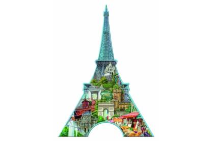 Ravensburger 16152 - Sziluett puzzle - Eiffel-torony, Párizs - 960 db-os puzzle
