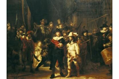 Ravensburger 16205 - Rembrandt - Éjjeli őrjárat - 1500 db-os puzzle