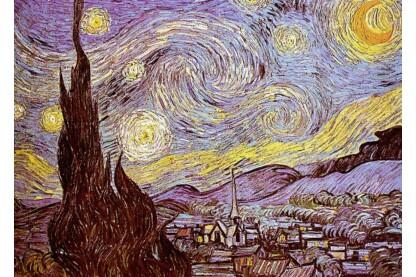 Ravensburger 16207 - Art puzzle - Van Gogh - Csillagos éj - 1500 db-os puzzle