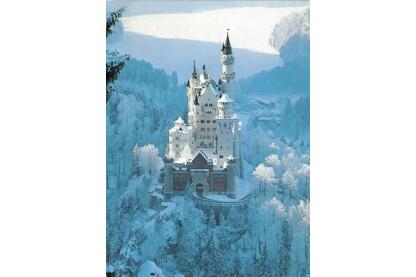 Ravensburger 16219 - Téli Neuschwanstein - 1500 db-os puzzle