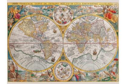 Ravensburger 16381 - Történelmi térkép - 1500 db-os puzzle